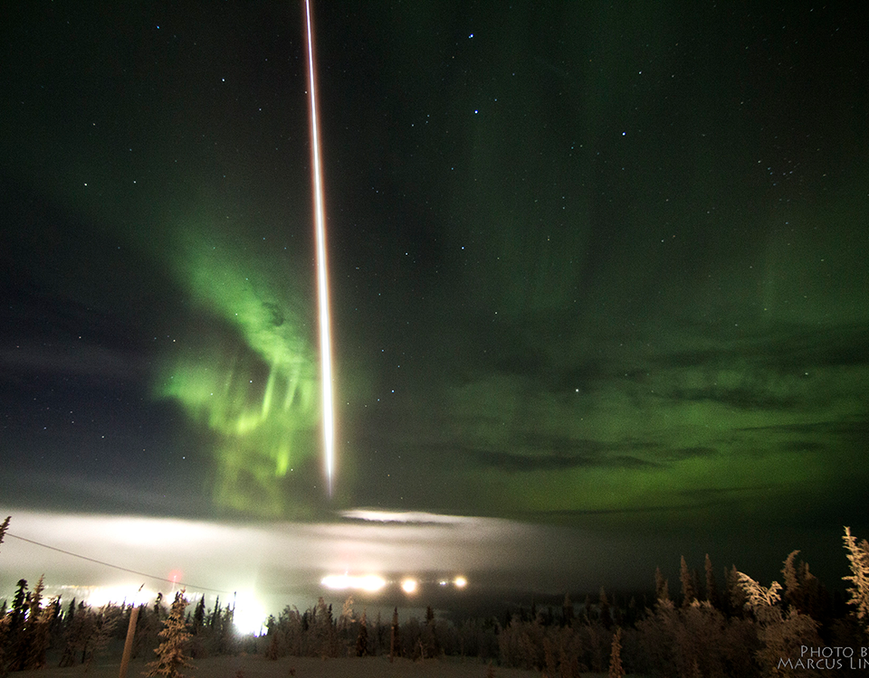 SPIDER launched into aurora